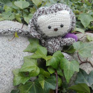 Muñeco Mono de trapo artesanal