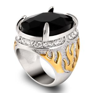 anillo piedra y fuego