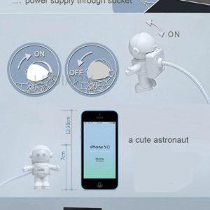 astronauta lampara