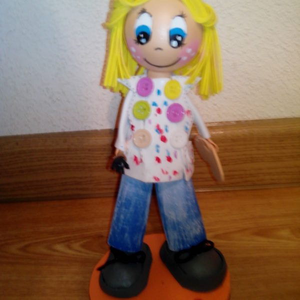 creación de muñecas fofuchas a medida barartas madrid