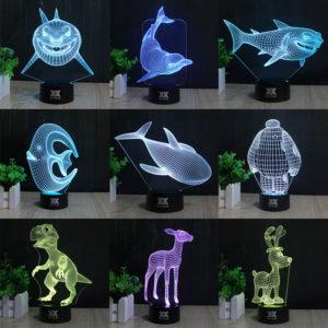 lampara laser mar tiburon