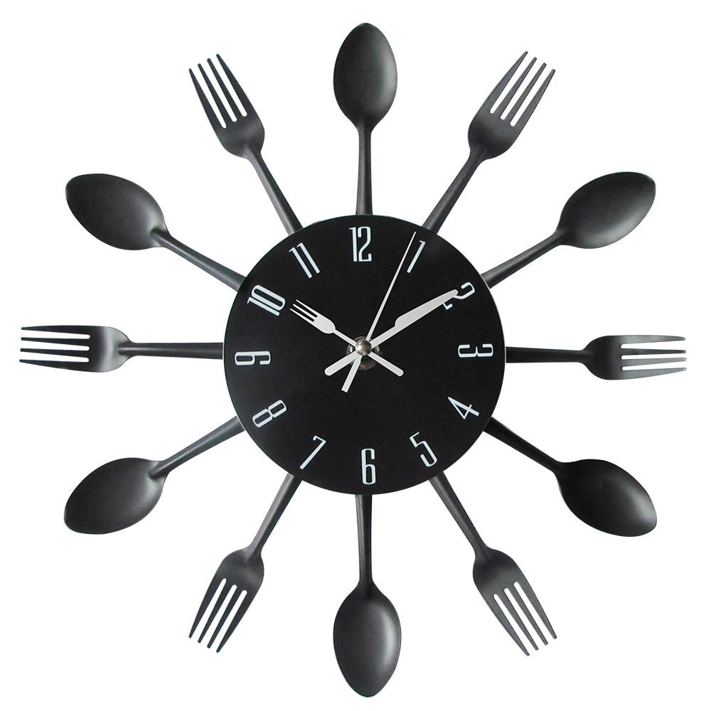 Reloj de pared divertido para cocina moderna una tienda diferente - Mecanismo para reloj de pared ...
