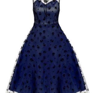 vestido vintage con encaje fiesta