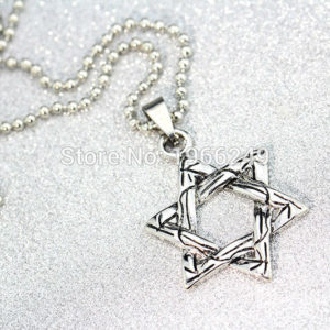 colgante pentagrama estrella
