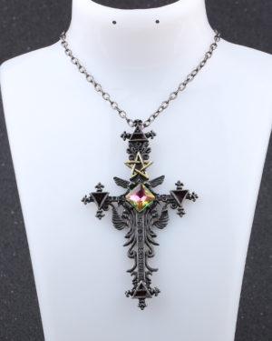 Colgante Cruz de Satán
